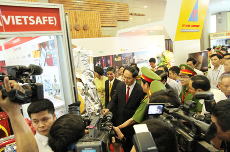 270 units participated in Fire Safety & Rescue Vietnam – Secutech Vietnam 2017