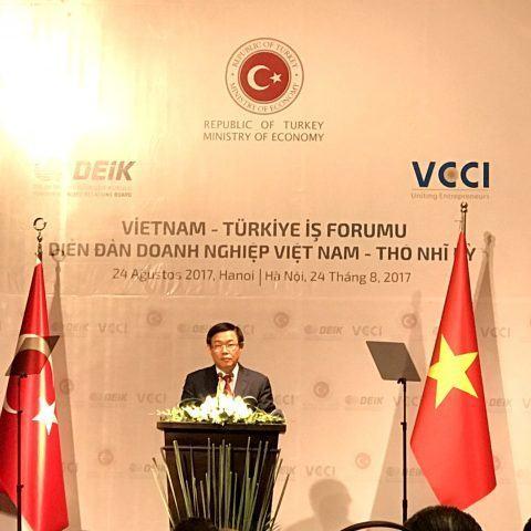 Đẩy mạnh hợp tác đầu tư và thương mại giữa doanh nghiệp Việt Nam và Thổ Nhĩ Kỳ