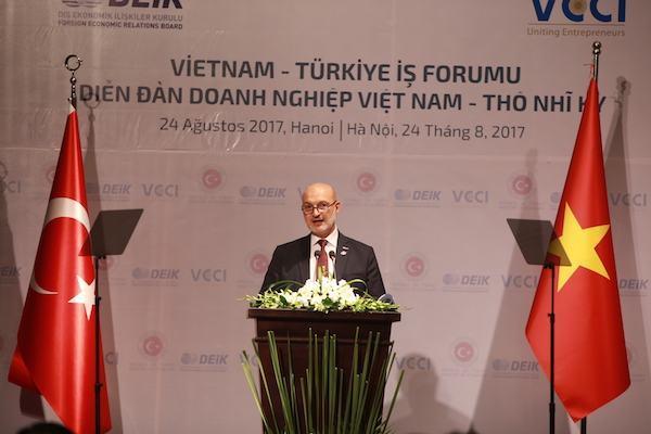 Việt Nam – Thổ Nhĩ Kỳ hiện thực hoá mục tiêu 4 tỷ USD vào năm 2020