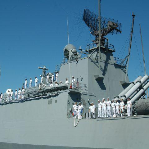 Hai Tàu hải quân Hàn Quốc cập cảng Tiên Sa Đà Nẵng