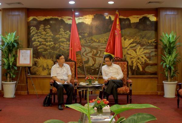 TS.Vũ Tiến Lộc: Cần thiết thành lập Hội đồng Hiệp hội DN Đông Nam Bộ