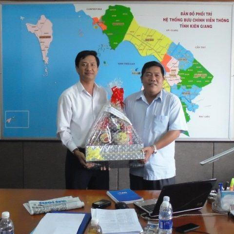 """Bưu điện tỉnh Kiên Giang: 10 năm tự hào với sứ mệnh """"Gửi cả niềm tin"""""""