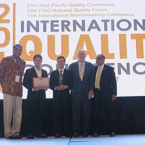 CTCP Tôn Đông Á: Đạt vị trí cao nhất trong hệ thống giải thưởng Chất lượng quốc tế GPEA