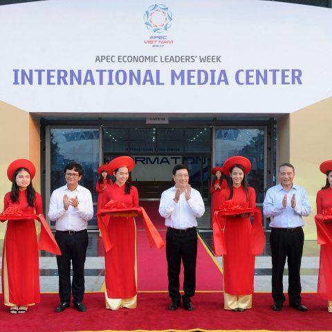 Khai trương Trung tâm Báo chí Quốc tế phục vụ tuần lễ cấp cao APEC