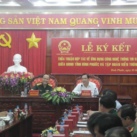 Viettel Bình Phước góp phần nâng cao hiệu quả quản lý nhà nước tại địa phương