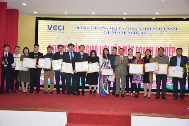 VCCI Nghệ An kết nối doanh nghiệp cuối năm 2017