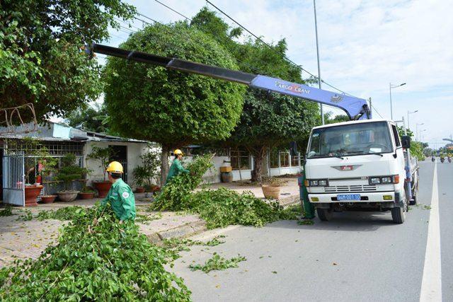 Trung tâm dịch vụ Đô thị tỉnh Bạc Liêu: Nỗ lực xây dựng môi trường Đô thị xanh, bền vững