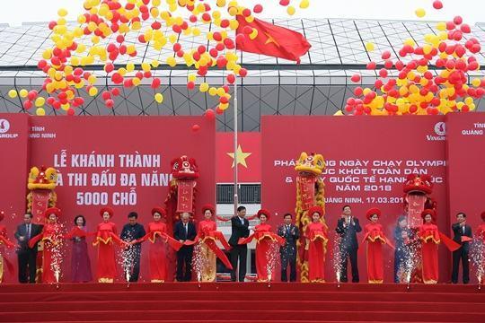Quảng Ninh: Khánh thành Nhà thi đấu đa năng 5 nghìn chỗ