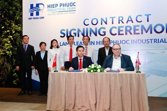 Tập đoàn Sơn Jotun đầu tư nhà máy mới tại KCN Hiệp Phước