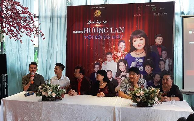 Nghệ sĩ Hương Lan tổ chức liveshow lớn nhất trong sự nghiệp ca hát