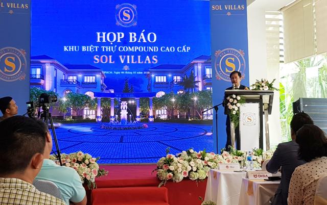 Ra mắt khu biệt thự cao cấp Sol Villas: Kiệt tác kiến trúc tân cổ điển sẽ được mở bán vào ngày 27/05/2018
