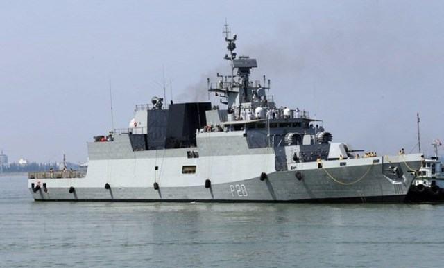 Ba Tàu Hải quân Ấn Độ cập cảng tiên sa thăm Đà Nẵng