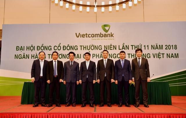 Vietcombank tổ chức thành công đại hội đồng cổ đông thường niên lần thứ 11 năm 2018