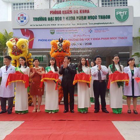 Khai trương phòng khám đa khoa trường ĐH Y khoa PNT
