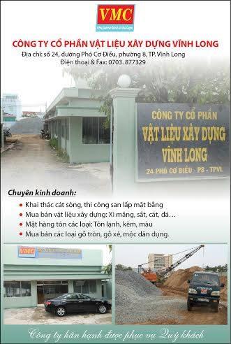 Công ty CP VLXD Vĩnh Long: Những kỳ vọng cho ngành vật liệu xây dựng tỉnh nhà