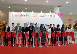Khai mạc triển lãm VietnamPrintPackFoodtech tại Thành phố Hồ Chí Minh