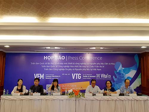 VTG 2018 – Diễn đàn B2B chuyên nghiệp nhất trong ngành dệt may