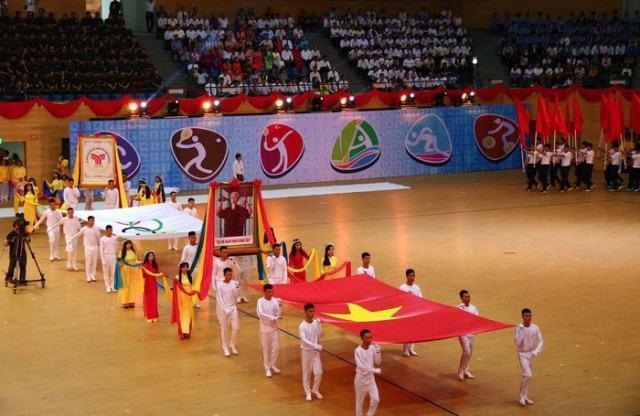 Đà Nẵng: Khai mạc Đại hội Thể dục thể thao lần thứ VIII năm 2018