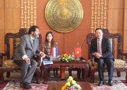 Ngài Carel Richter Tổng Lãnh sự Vương quốc Hà Lan tại TP.Hồ Chí Minh thăm và làm việc với lãnh đạo tỉnh Quảng Nam