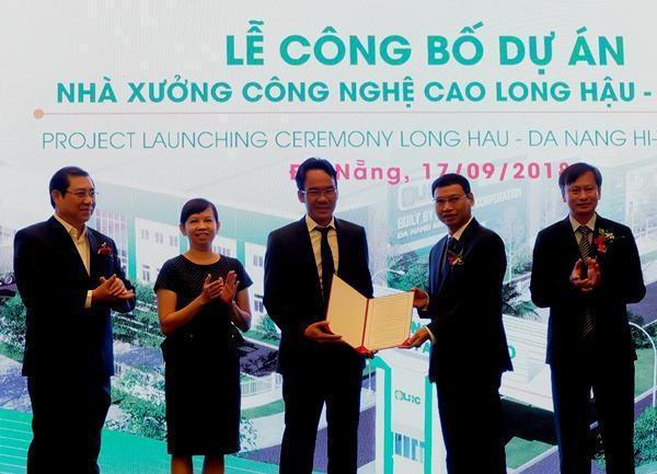 1.000 tỷ đồng đầu tư dự án Nhà xưởng đầu tiên tại Khu Công nghệ cao Đà Nẵng