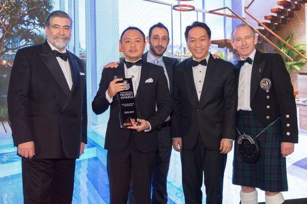 """SonKim Land đoạt giải thưởng quốc tế uy tín """"International Property Awards 2018"""""""