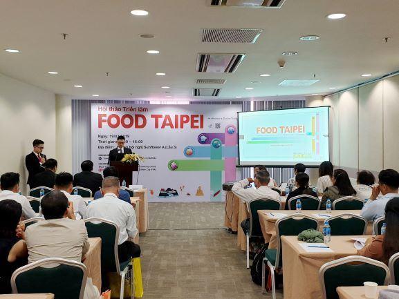 Triển lãm FOOD TAIPEI 5 trong 1: Xúc tiến giao thương ngành công nghiệp thực phẩm Châu Á