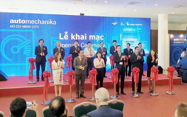 Automechanika Thành phố Hồ Chí Minh chính thức ra mắt