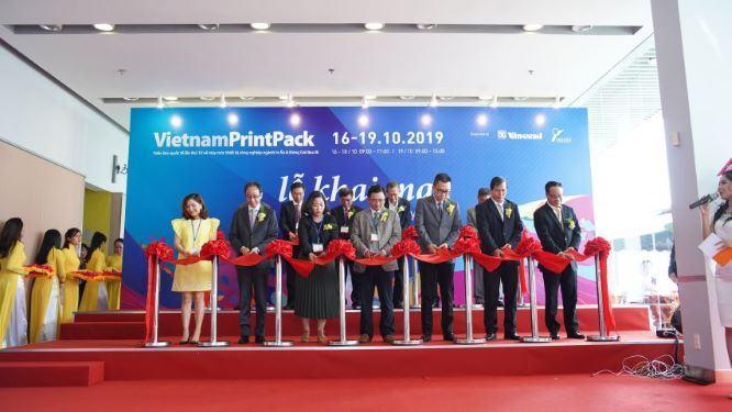 VietnamPrintPack 2019: Điểm giao thương uy tín cho doanh nghiệp trong và ngoài nước