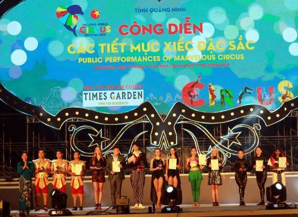 Quảng Ninh: Bế mạc Liên hoan xiếc Thế giới – Hạ Long 2019