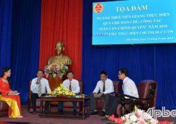 Cục Thuế tỉnh Tiền Giang: Đồng bộ các giải pháp, đảm bảo nguồn thu