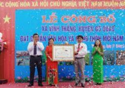 Bước tiến vững chắc trong xây dựng Nông thôn mới ở huyện Gò Quao