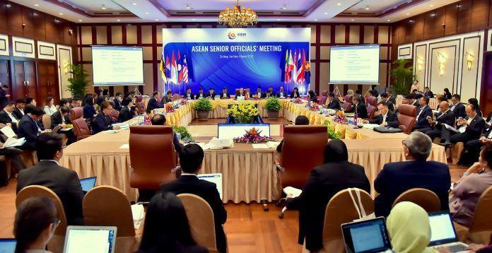 Hội Nghị quan chức cấp cao ASEAN