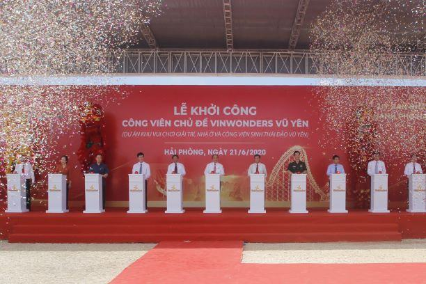 Khai trương dự án VinWonders Vũ Yên