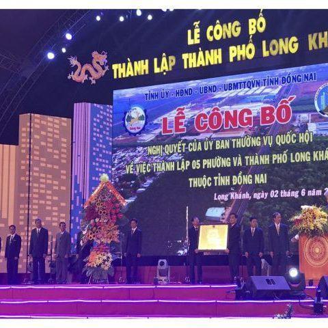 Long Khánh: Thành phố xanh trong tương lai
