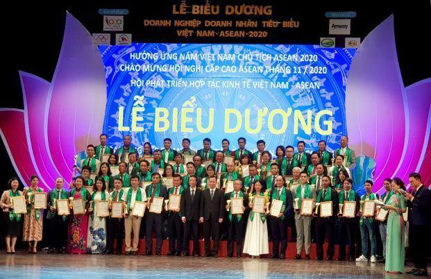 Lễ Biểu dương doanh nghiệp, doanh nhân tiêu biểu Việt Nam – ASEAN 2020