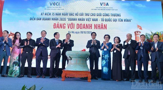 """Diễn đàn Doanh nhân 2020: """"Doanh nhân Việt Nam – Tổ quốc gọi tên mình"""""""