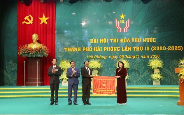 Đại hội Thi đua yêu nước của thành phố Hải Phòng lần thứ 9 được tổ chức tại Cung Văn hóa Việt – Tiệp ngày 9/11/2020 thành công rực rỡ