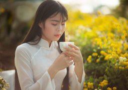 Cô gái trẻ Bùi Thị Dịu với niềm đam mê trà đạo