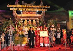 Lễ hôi Phát lương Trần Thương: Ước vọng một năm tài lộc bội thu đủ đầy và hạnh phúc