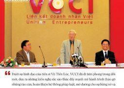 """Tiến sĩ Vũ Tiến Lộc – """"Người vác tù và"""" của Làng Doanh nhân Việt"""