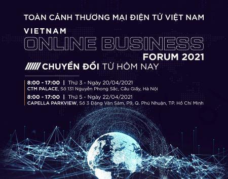 EBI 2021 sẽ được công bố tại Diễn đàn Toàn cảnh Thương mại điện tử Việt Nam