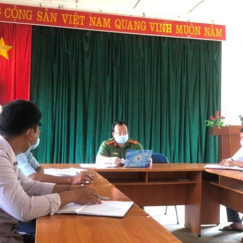 Huyện Tuần Giáo tỉnh Điện Biên: Phòng chống dịch Covid-19 đi đôi với phòng, chống tội phạm