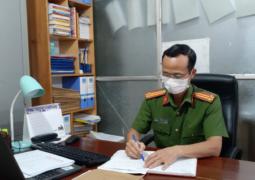 Trung tá Công an Trần Đức Việt – Tấm gương tận tụy vì công việc