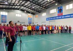 Kỷ niệm 91 năm ngày thành lập Hội LHPN Việt nam 20/10/2021 Sôi nổi giải Cầu lông Nữ CNVCLĐ Công ty Than Quang Hanh